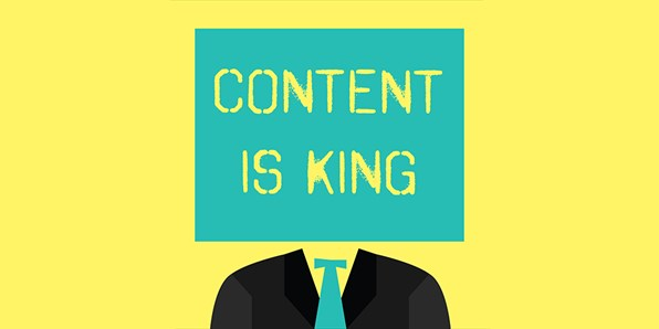 content is king concept image